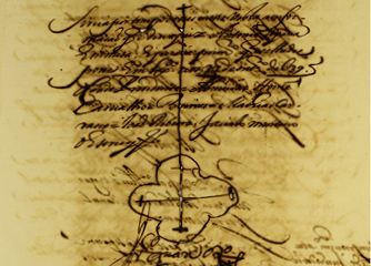[Provimento do ofício de escrivão do Julgado de Bucelas], 1639-10-20 AML, Chancelaria da Cidade, Livro de registo da Chancelaria da Cidade, doc. 60, f. 26.