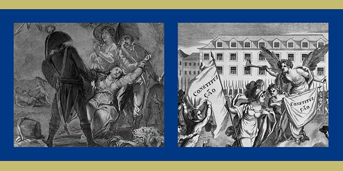 Imagens utilizadas na capa do catálogo temático