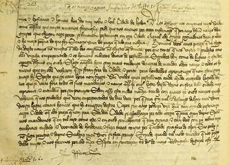 [O infante D. Duarte critica o concelho de Lisboa por ter sido responsável por um surto de peste] | Código de referência: PT/AMLSB/CMLSBAH/CHR/0447/0332