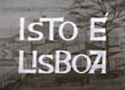 Isto é Lisboa
