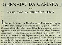 [Edital do Senado da Câmara de Lisboa a publicitar um louvor à Constituição, ao Augusto Congresso Nacional e às Cortes Gerais e Constituintes] | Data: 1821-03-28 | Código de referência: PT/AMLSB/CMLSBAH/CHC/011/006/0114